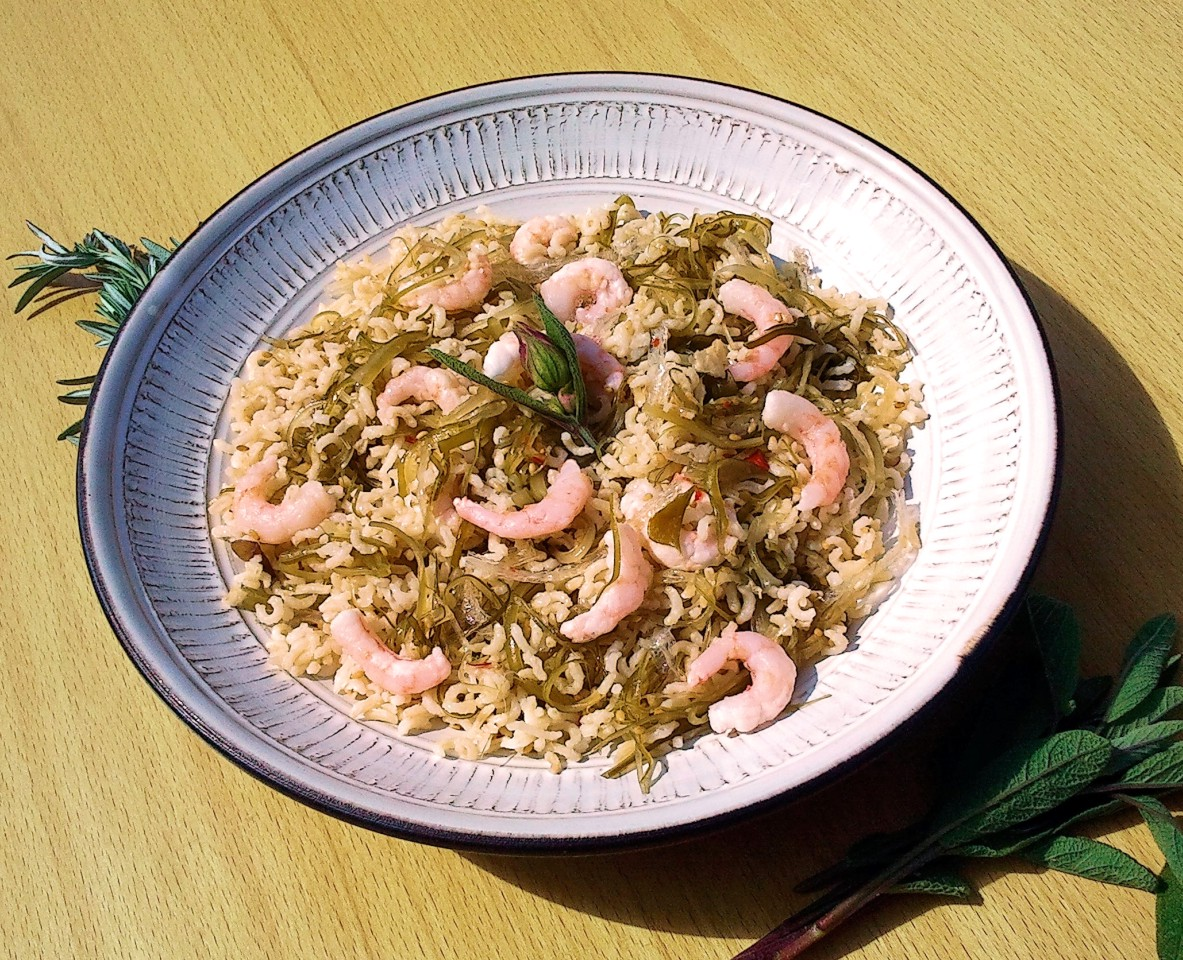 Prawn and Sesame Salad Stir-Fry